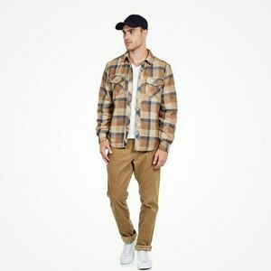 Marmot quilted flannel shirt / jacket